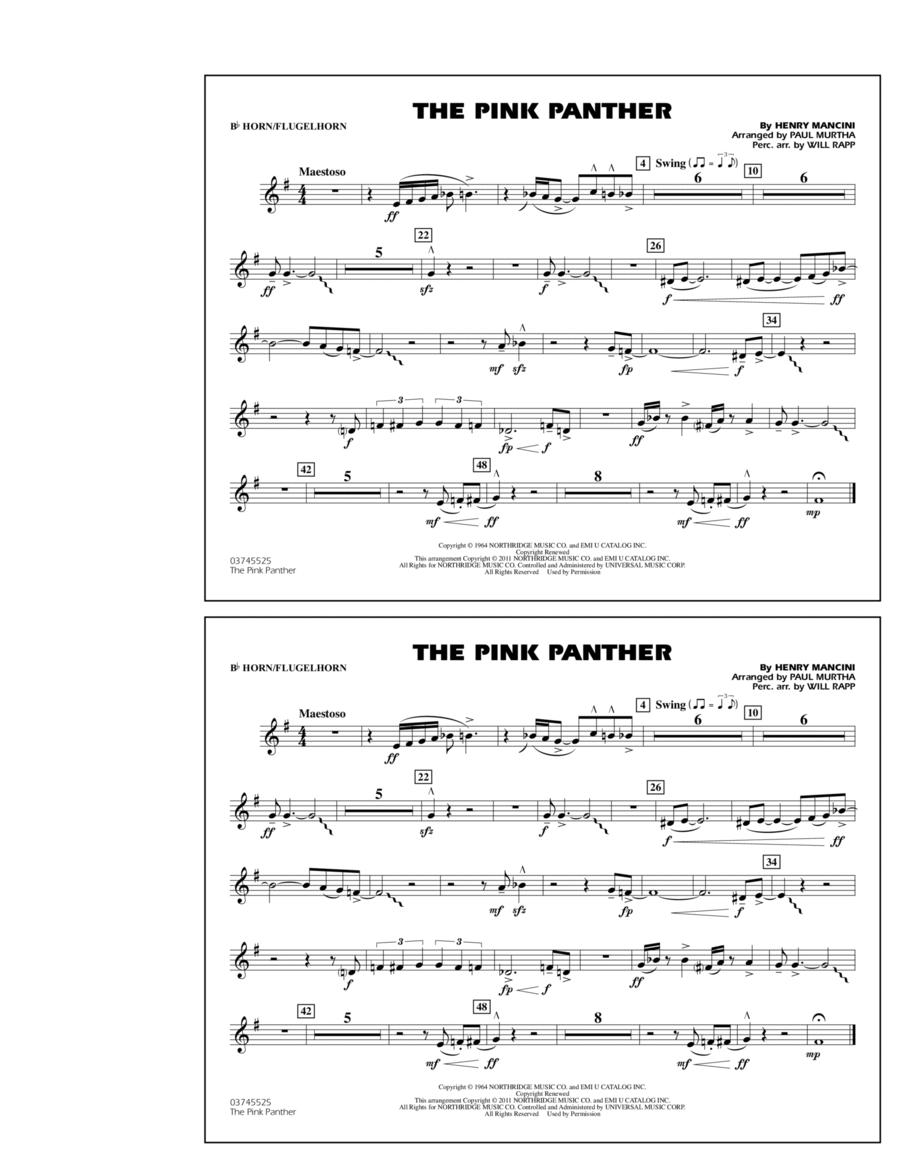 The Pink Panther - Bb Horn/Flugelhorn