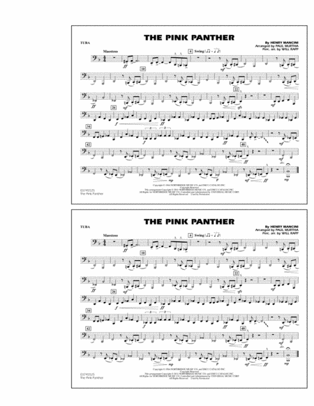 The Pink Panther - Tuba