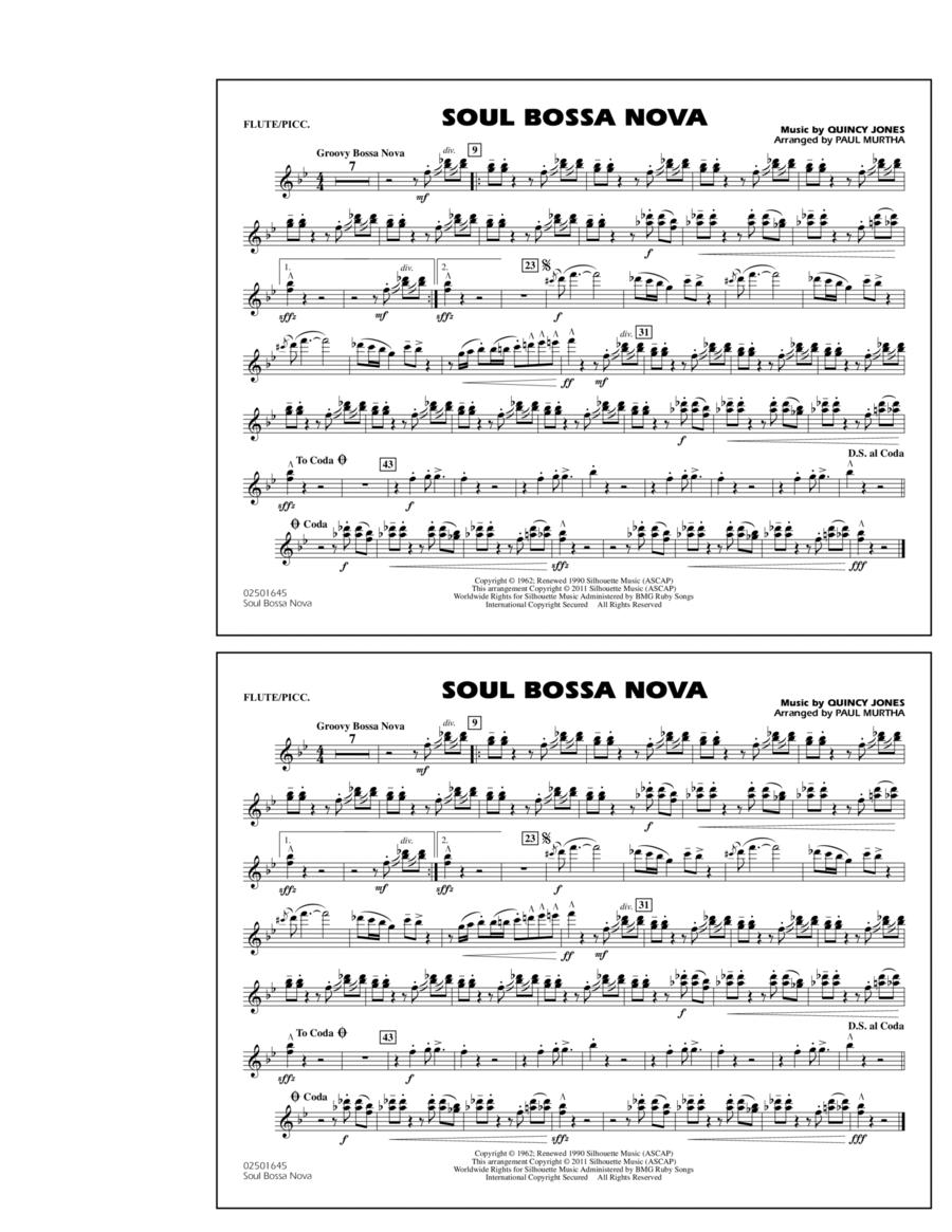 Soul Bossa Nova - Flute/Piccolo