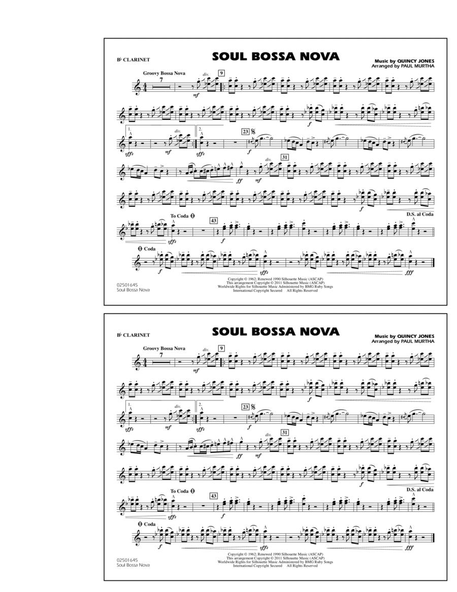 Soul Bossa Nova - Bb Clarinet