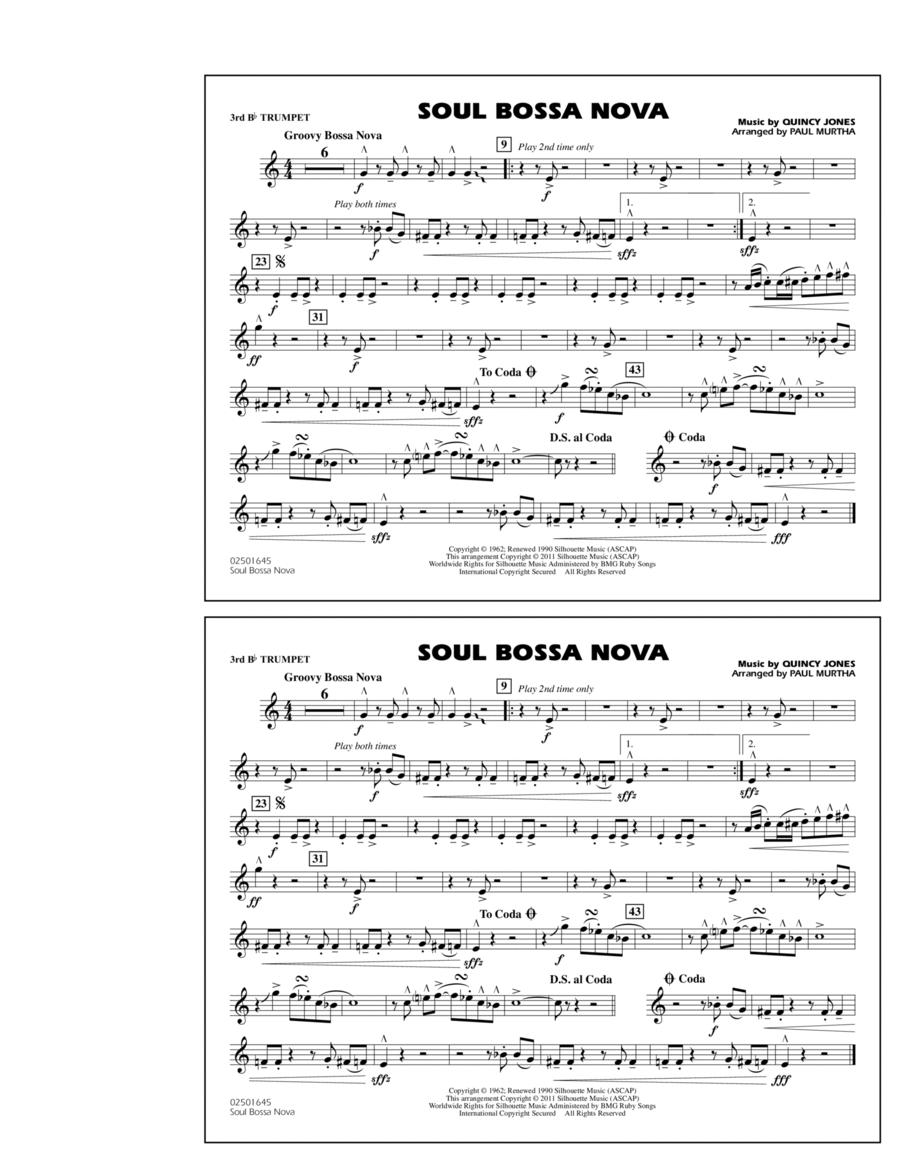 Soul Bossa Nova - 3rd Bb Trumpet