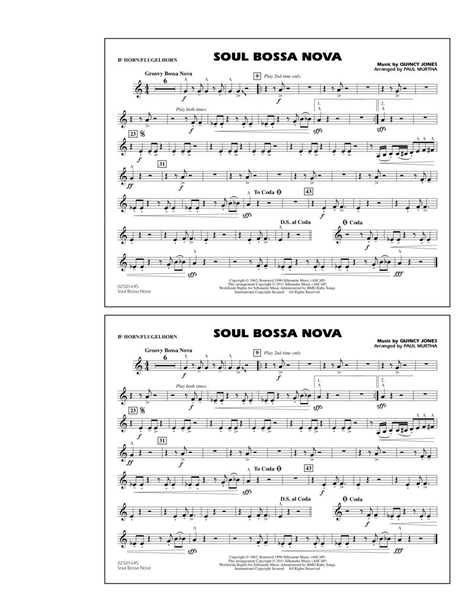 Soul Bossa Nova - Bb Horn/Flugelhorn