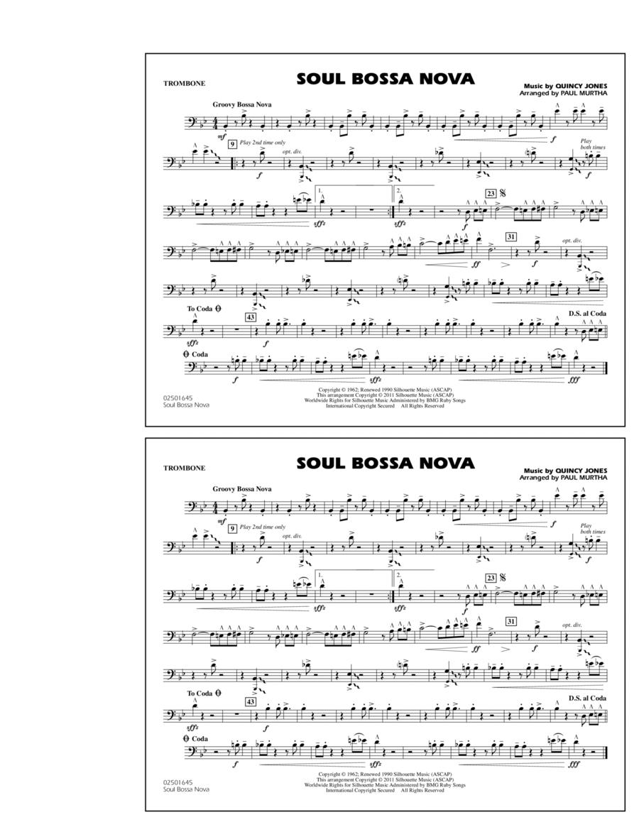 Soul Bossa Nova - Trombone