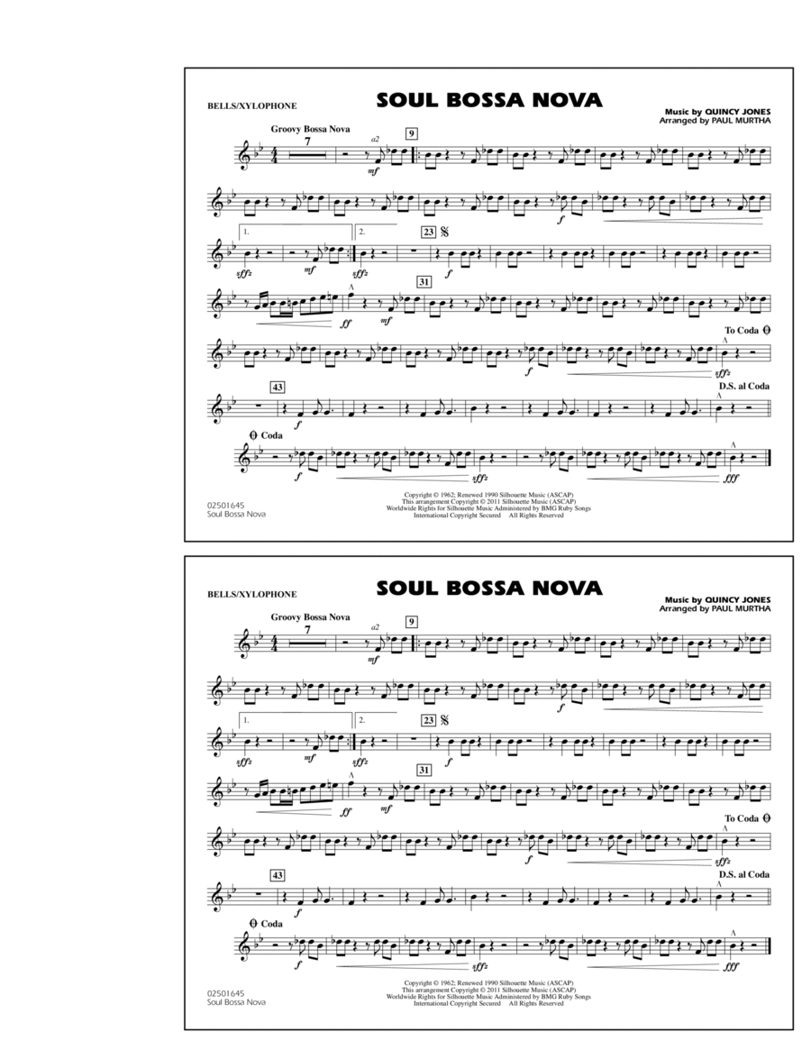 Soul Bossa Nova - Bells/Xylophone