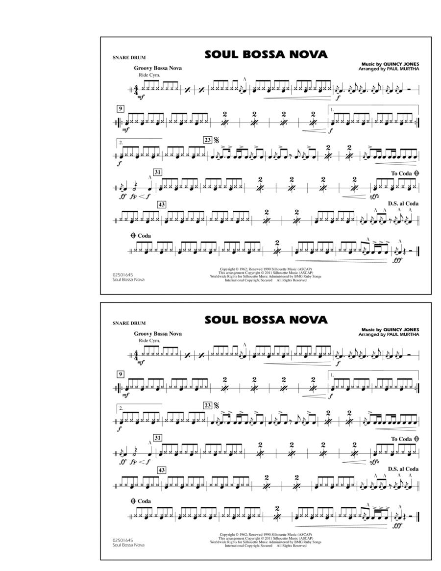 Soul Bossa Nova - Snare Drum
