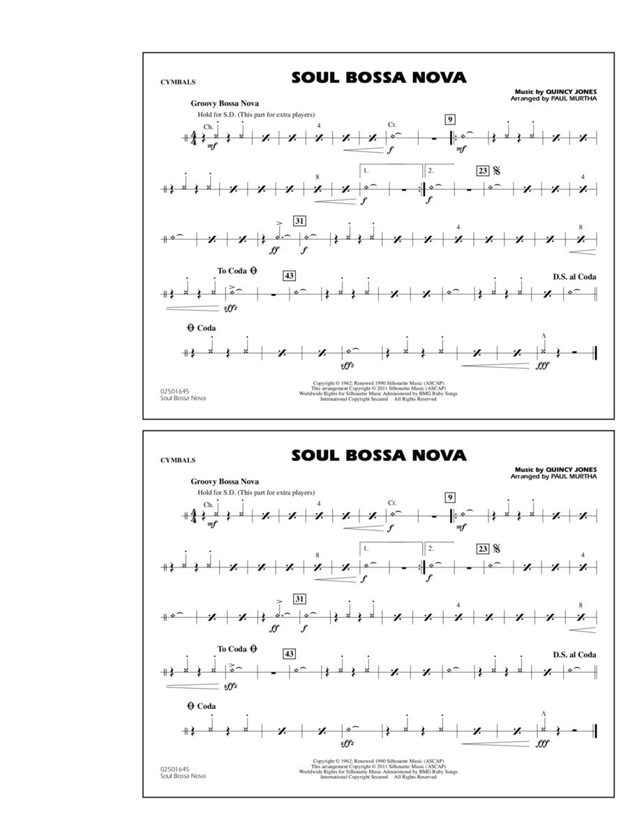 Soul Bossa Nova - Cymbals