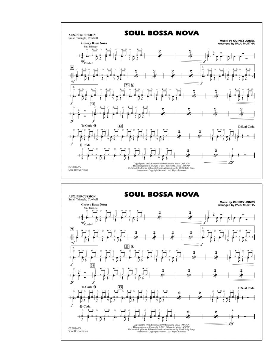 Soul Bossa Nova - Aux Percussion