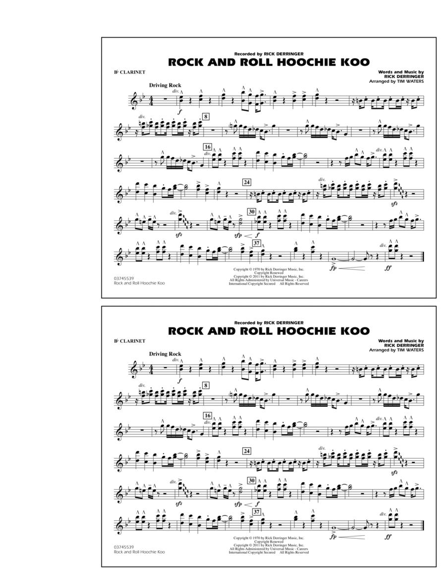 Rock And Roll Hoochie Koo - Bb Clarinet