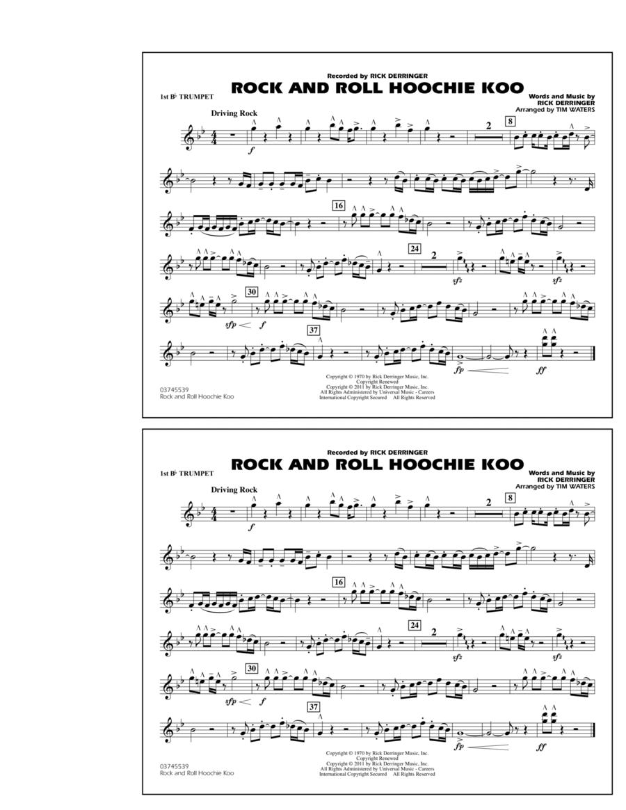 Rock And Roll Hoochie Koo - 1st Bb Trumpet