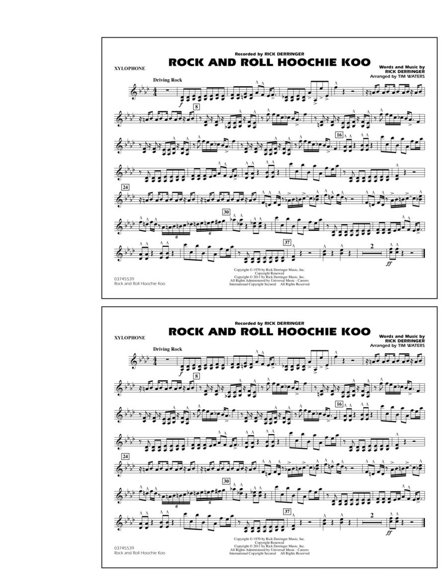 Rock And Roll Hoochie Koo - Xylophone