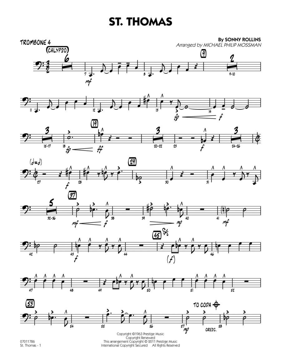 St. Thomas - Trombone 4