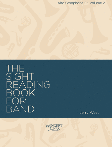 Sight Reading Book for Band, Vol. 2 - Alto Sax 2