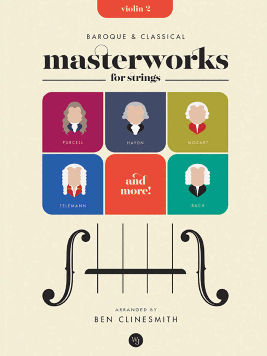 Baroque and Classical Masterworks for Strings - Violin 2