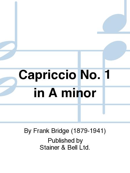 Capriccio No. 1 in A minor