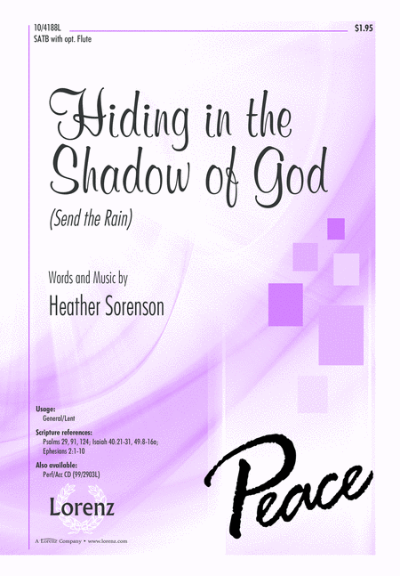 Hiding in the Shadow of God