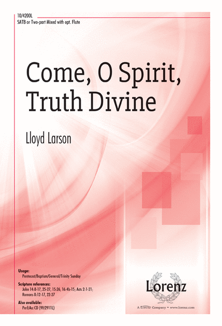 Come, O Spirit, Truth Divine