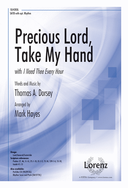 Precious Lord, Take My Hand with