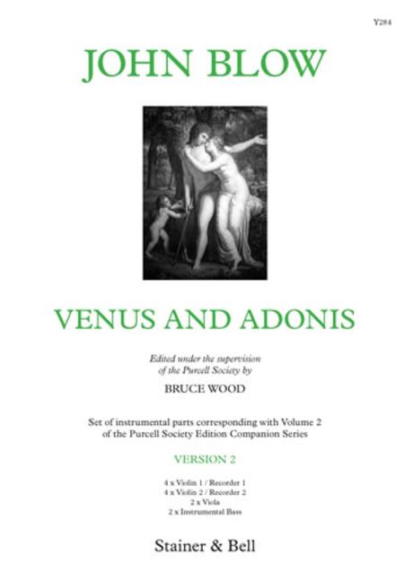Venus & Adonis. Version 2 (Parts)
