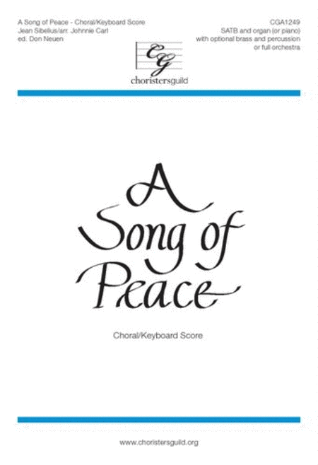 A Song of Peace - Orchestral Score and Parts