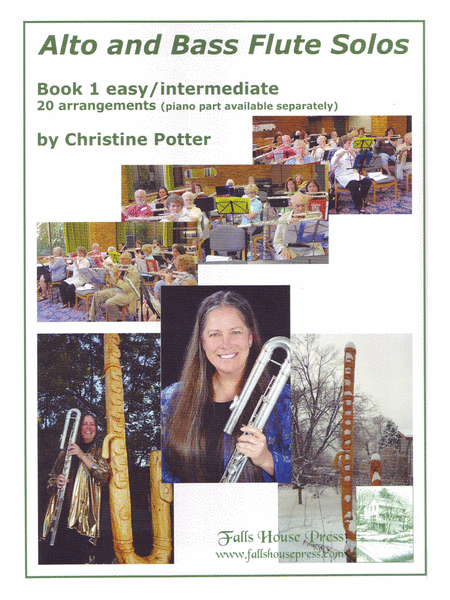 Alto and Bass Flute Solos, Book 1: easy/intermediate - flute part