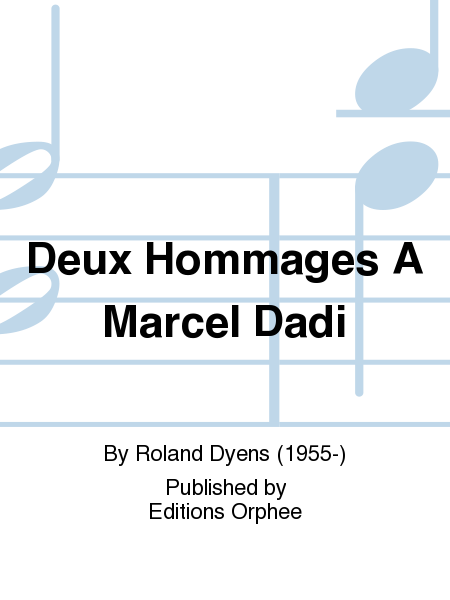 Deux Hommages A Marcel Dadi