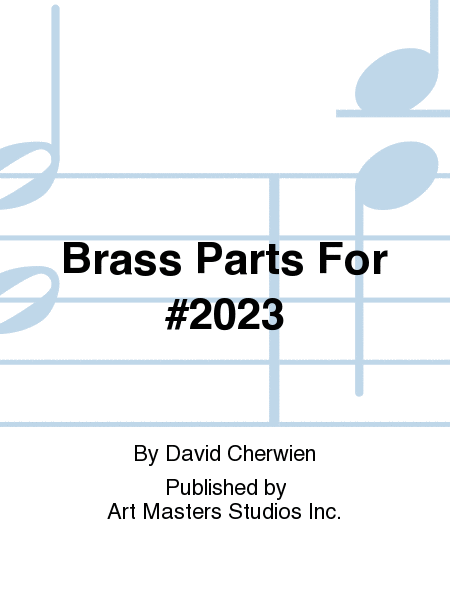 Brass Parts For #2023