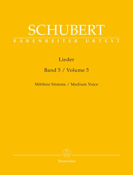 Lieder, Volume 5