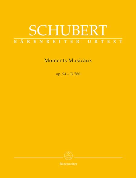 Moments Musicaux, Op. 94 D 780