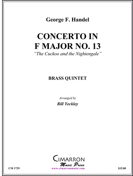Concerto in F Major No. 13