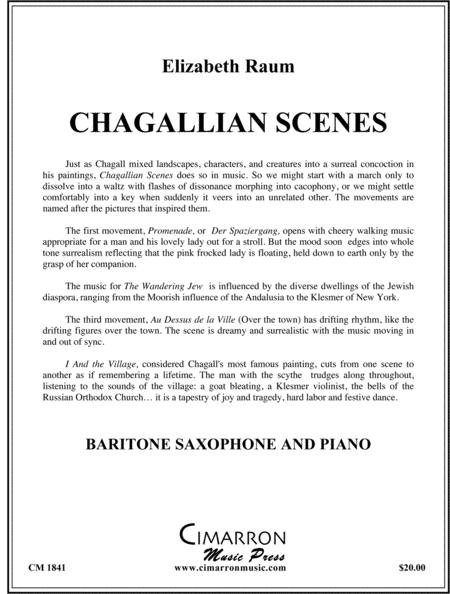 Chagallian Scenes