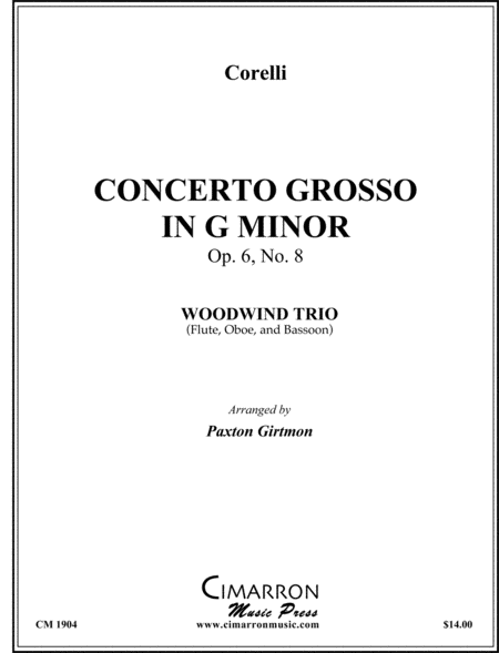 Concerto Grosso in G Minor