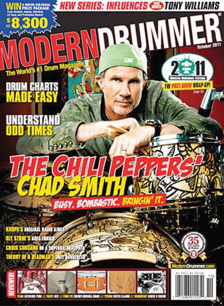 Modern Drummer Magazine - October 2011