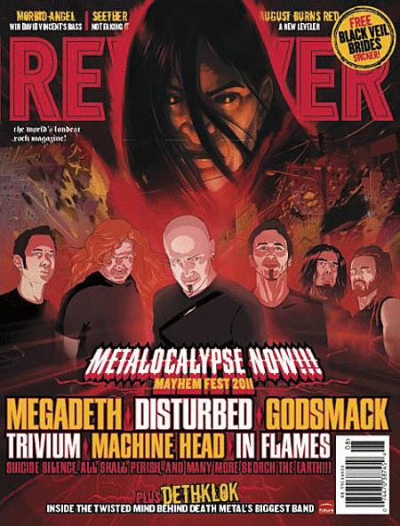 Revolver Magazine Back Issue - July/August 2011
