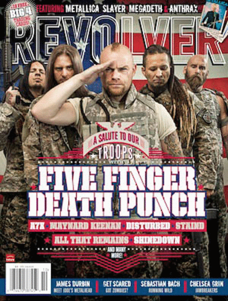 Revolver Magazine Back Issue - Sept/Oct 2011