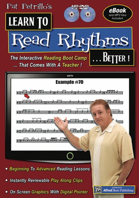 Pat Patrillo's Learn to Read Rhythms . . . Better!