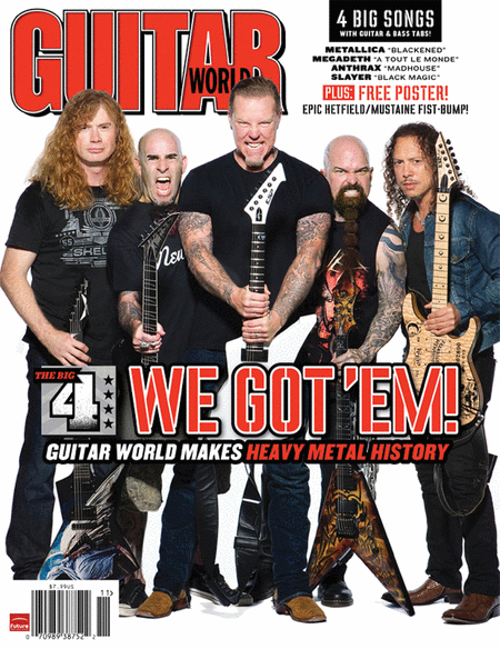 Guitar World Magazine Back Issue - November 2011