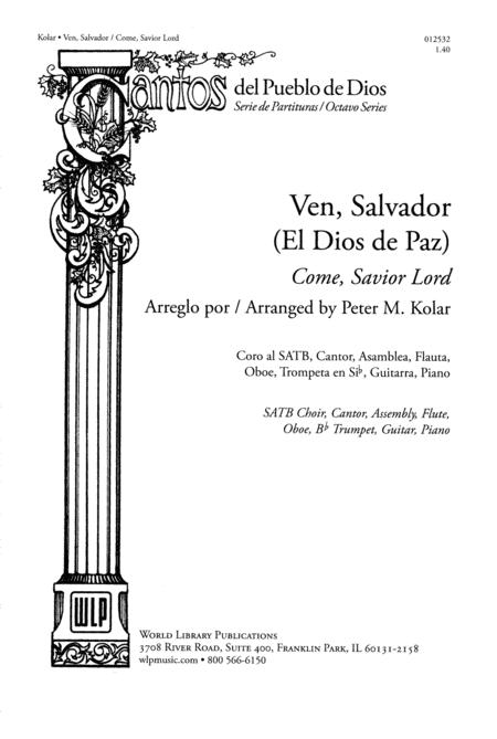 Ven, Salvador / Come, Savior Lord