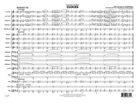 Clocks - Conductor Score (Full Score)