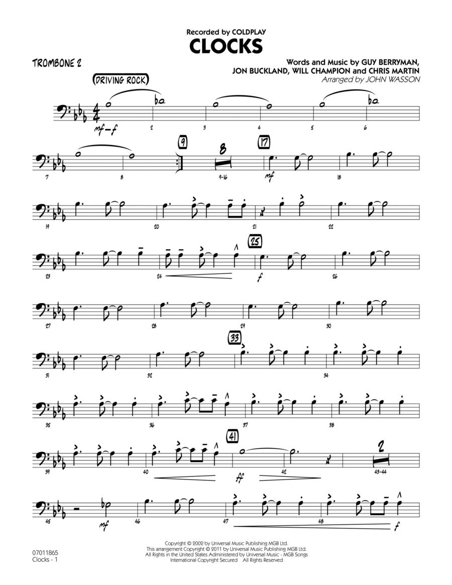 Clocks - Trombone 2