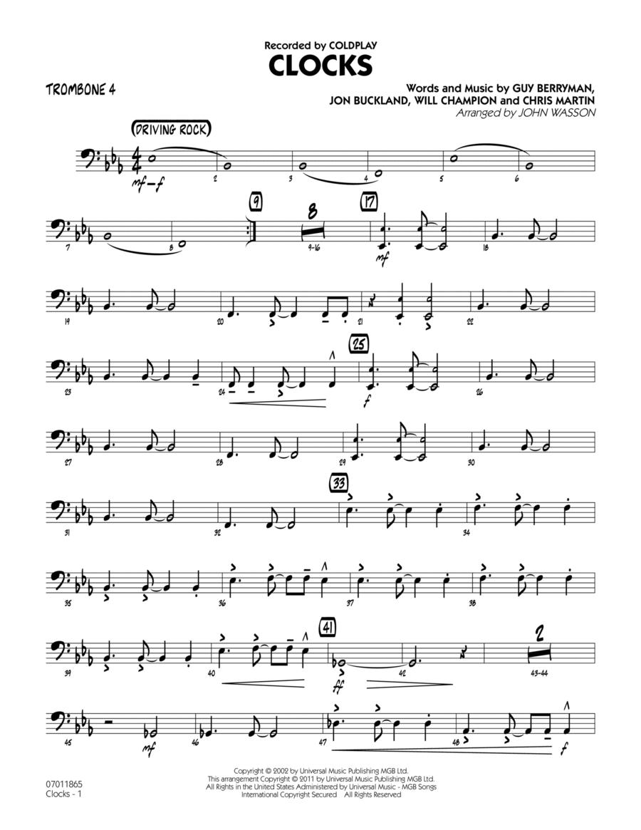 Clocks - Trombone 4