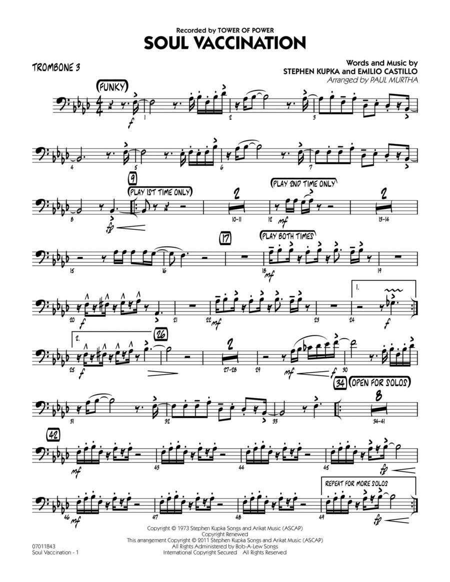 Soul Vaccination - Trombone 3