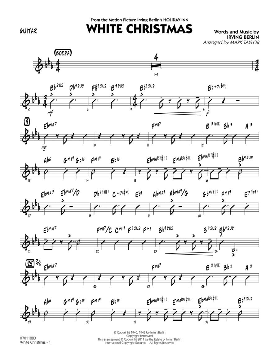 White Christmas - Guitar