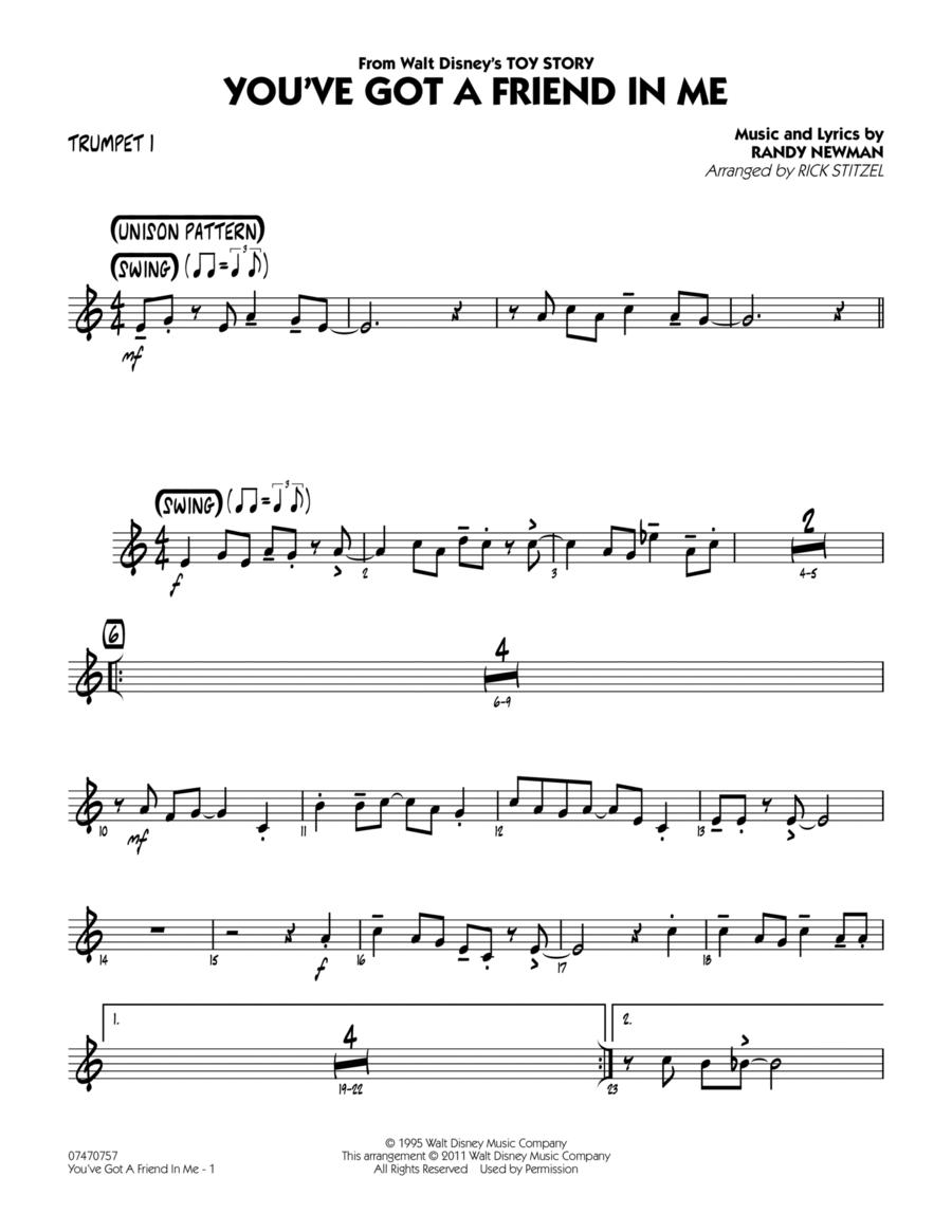 You've Got A Friend In Me - Trumpet 1