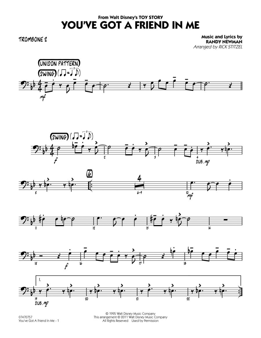 You've Got A Friend In Me - Trombone 2