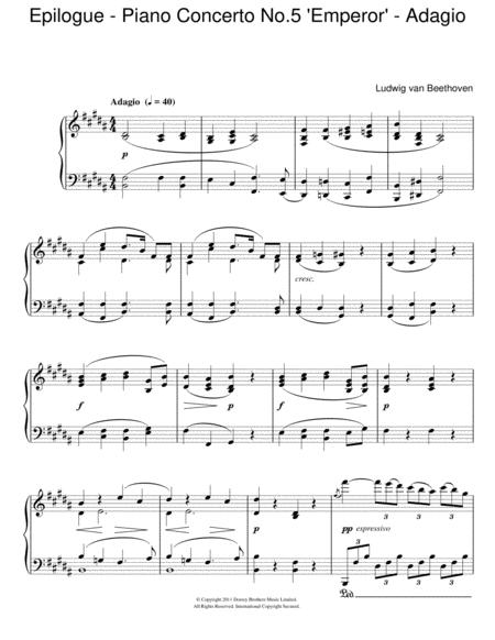 Epilogue (Piano Concerto No.5