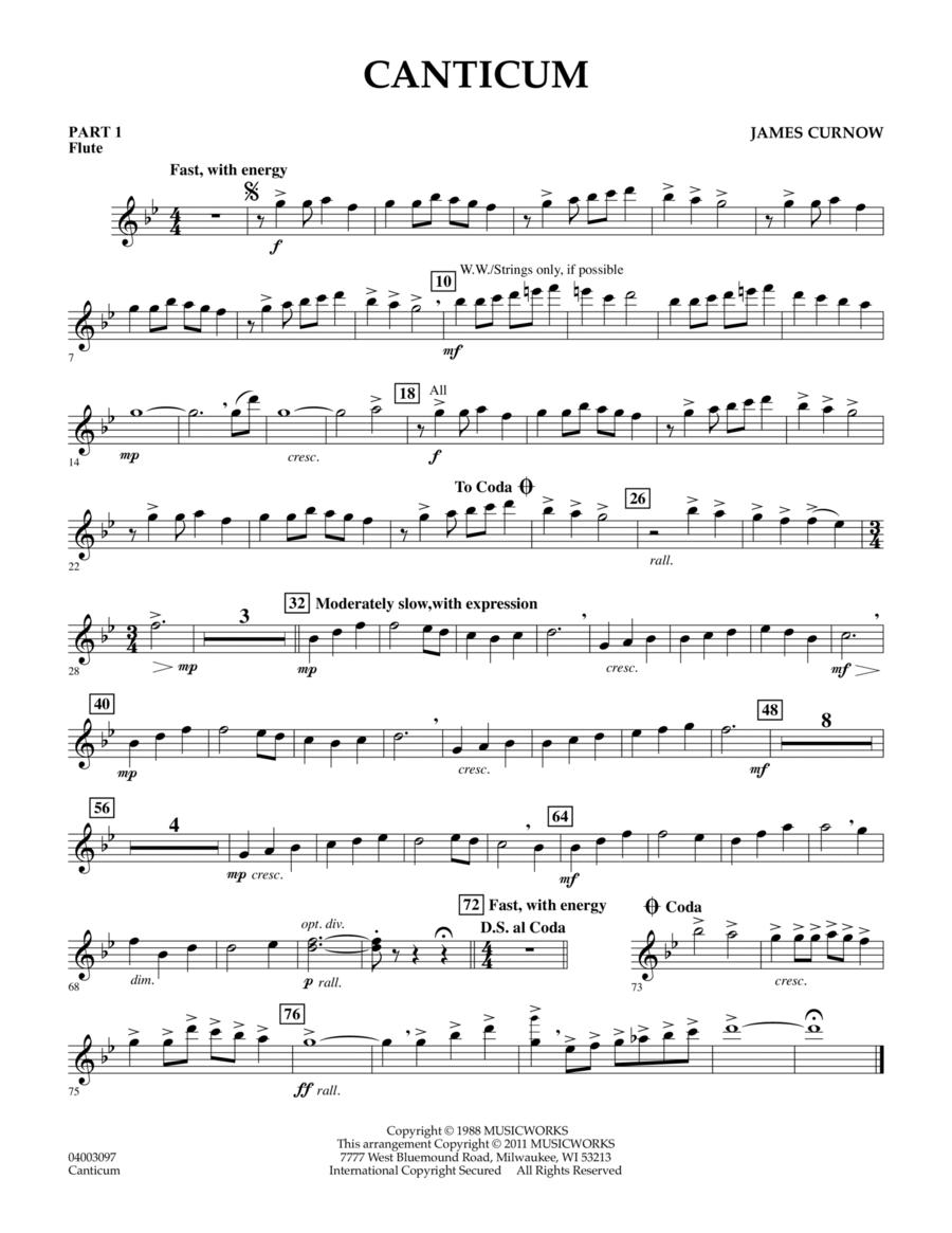 Canticum - Pt.1 - Flute
