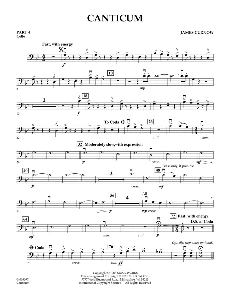 Canticum - Pt.4 - Cello