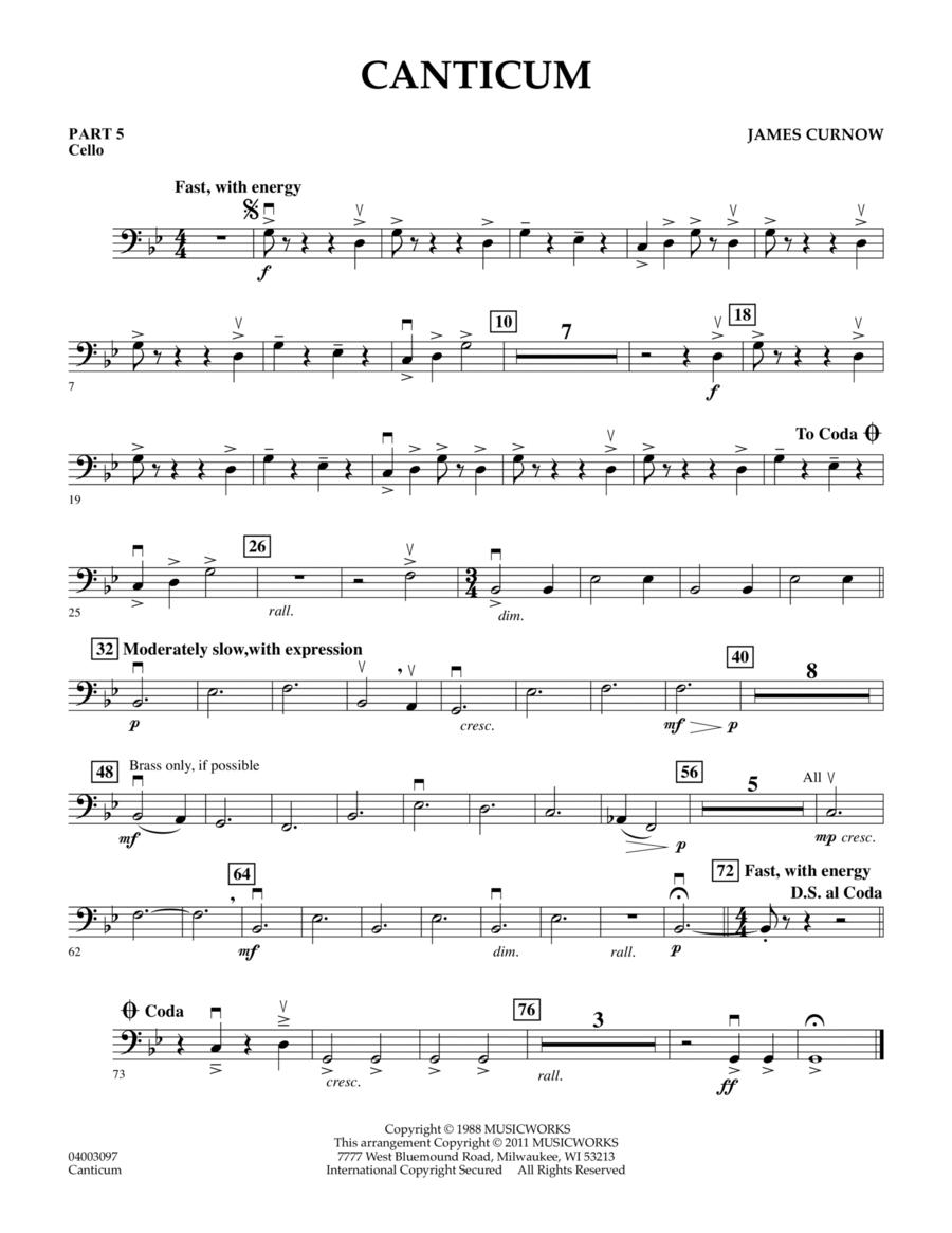 Canticum - Pt.5 - Cello