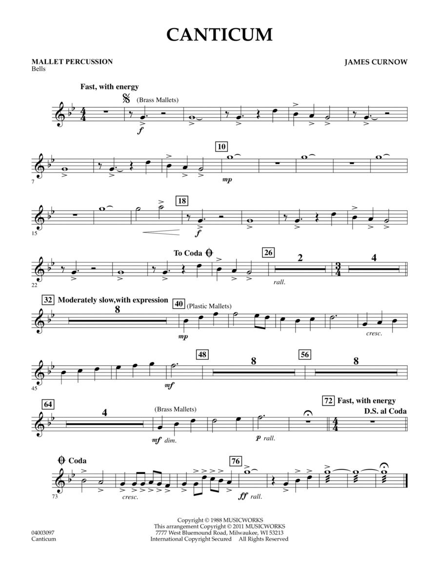 Canticum - Mallet Percussion