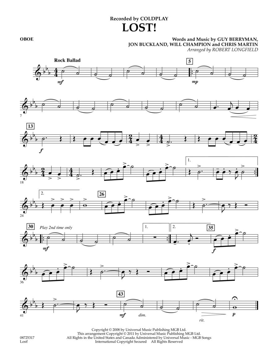 Lost! - Oboe